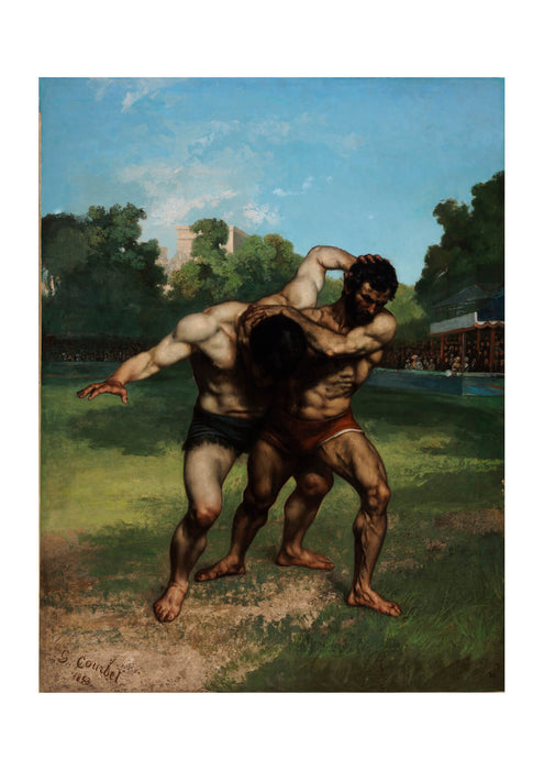 Gustave Courbet - The Wrestlers