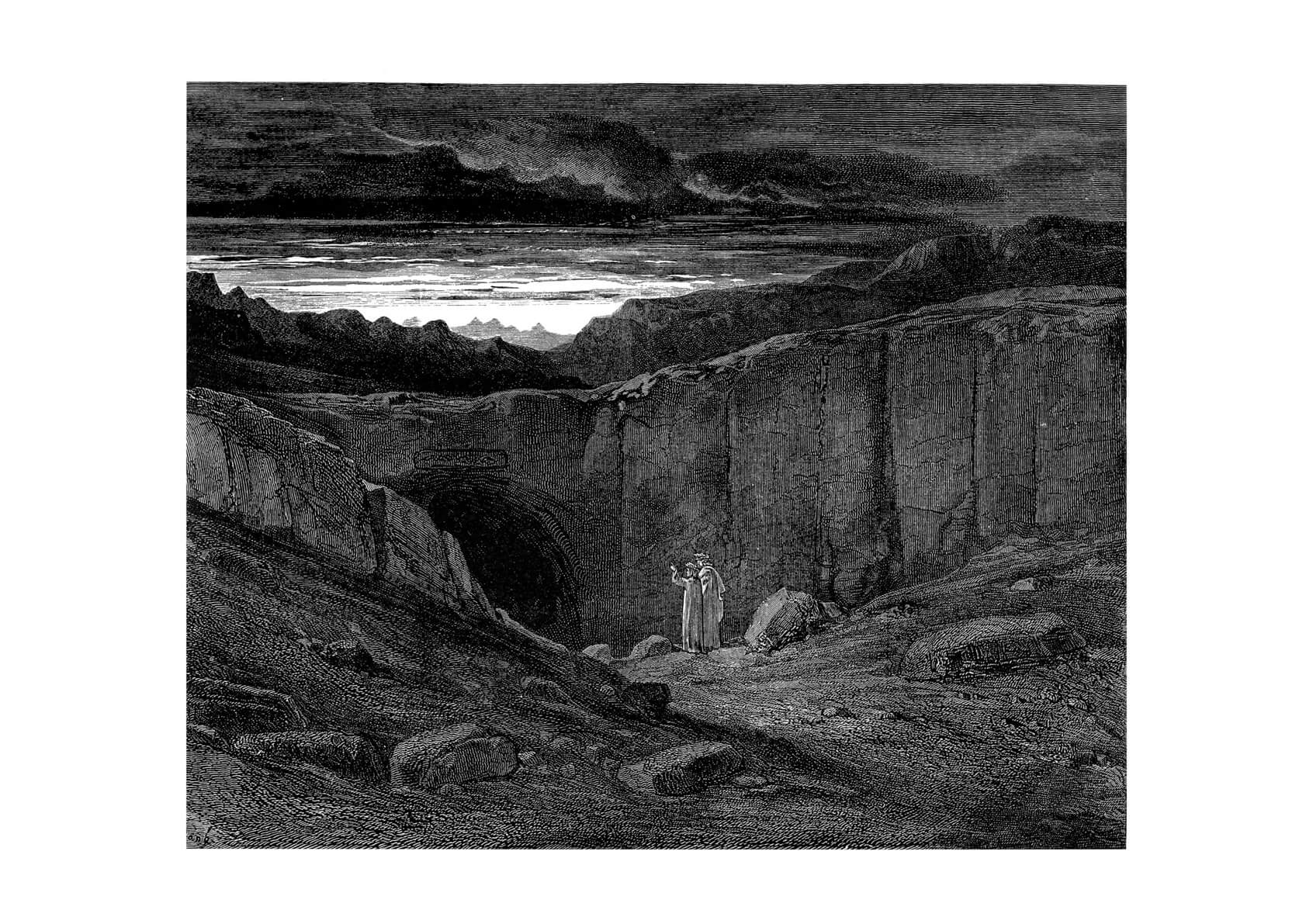 Gustave Doré - Dante's Inferno - Abandon All Who Enter