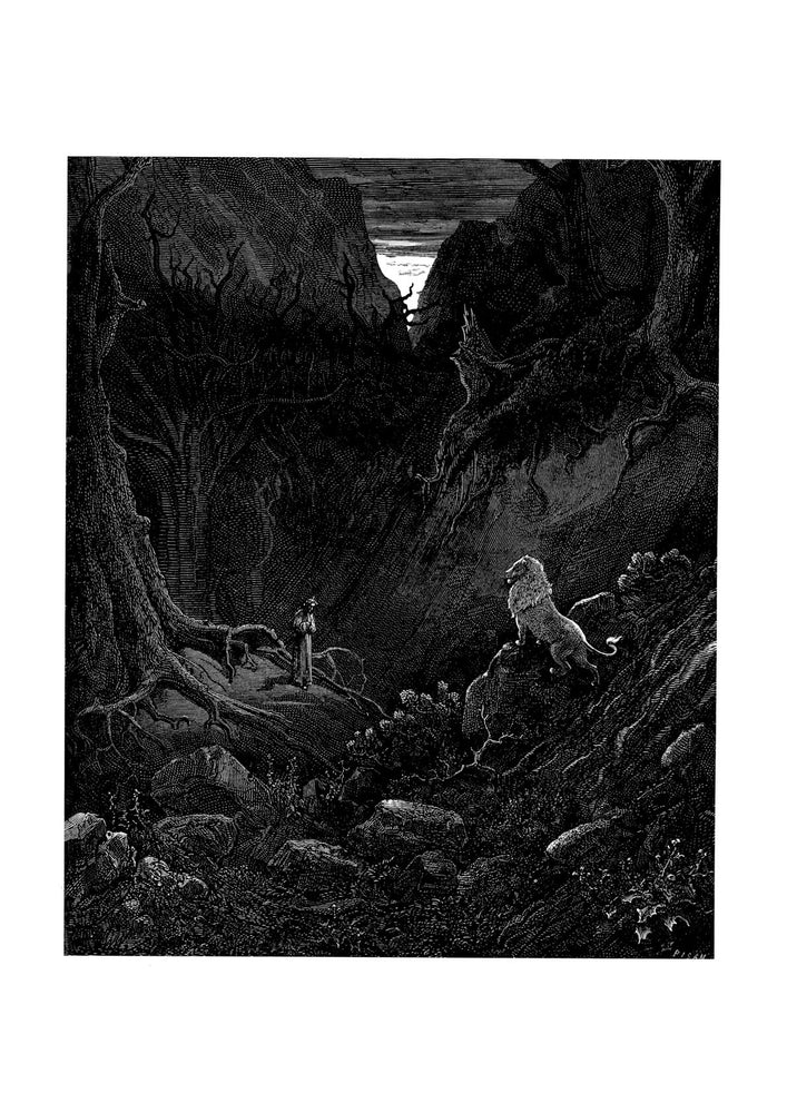 Gustave Doré - Dante's Inferno - The Lion