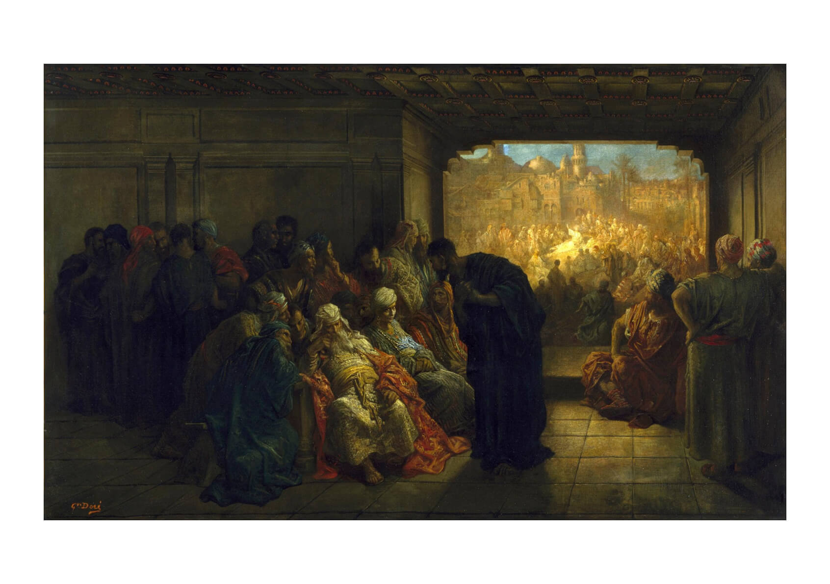 Gustave Doré - The House of Caiaphas