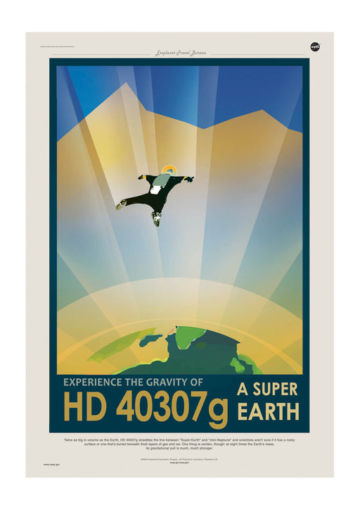 HD 40307g NASA Space Tourism