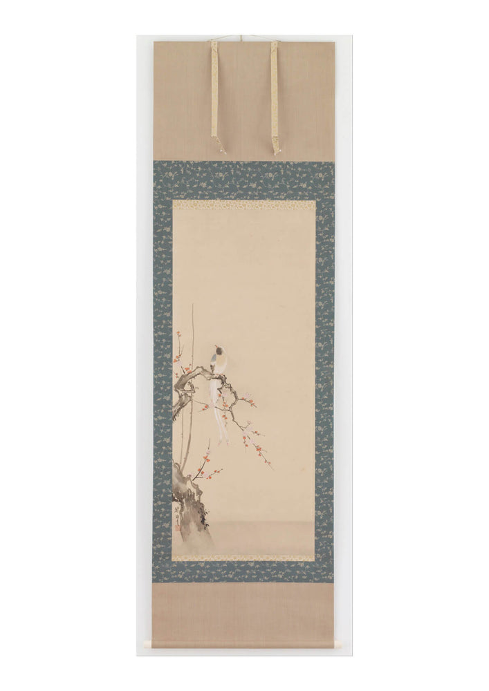 Hanabusa Itcho - Bird And Plum Blossoms