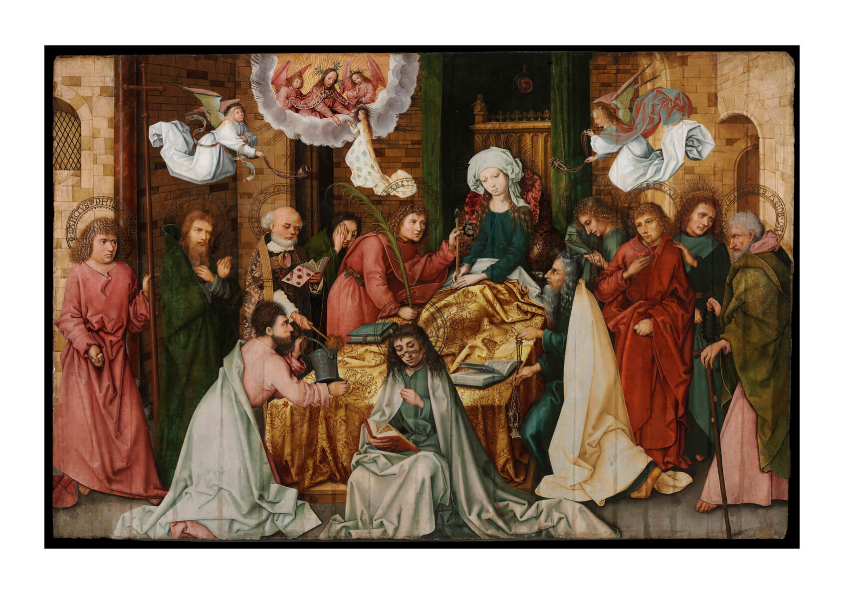 Hans Holbein The Elder - The Dormition Of The Virgin