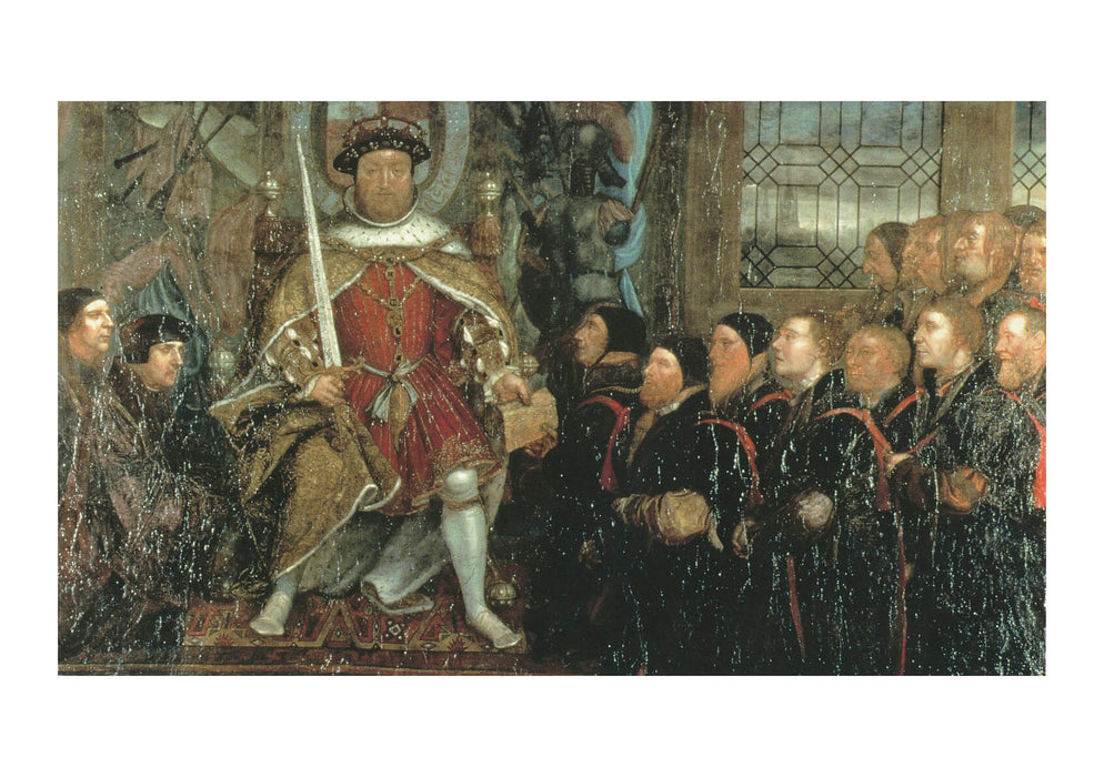 Hans The Younger - Henry VIII and the Barber Surgeons