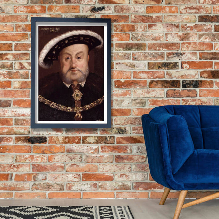 Hans The Younger - King Henry VIII Portrait