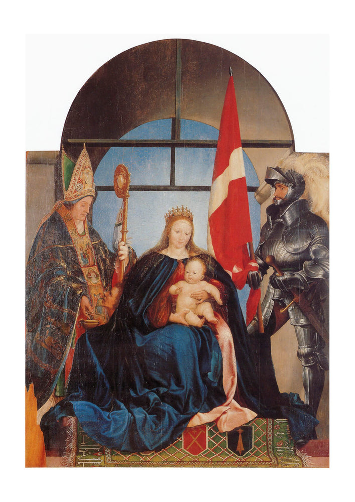 Hans The Younger - Solothurn Madonna
