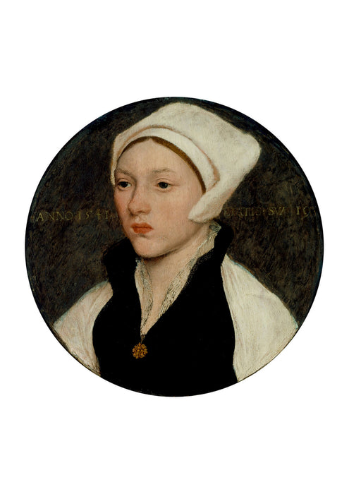 Hans The Younger - Woman with a White Coif