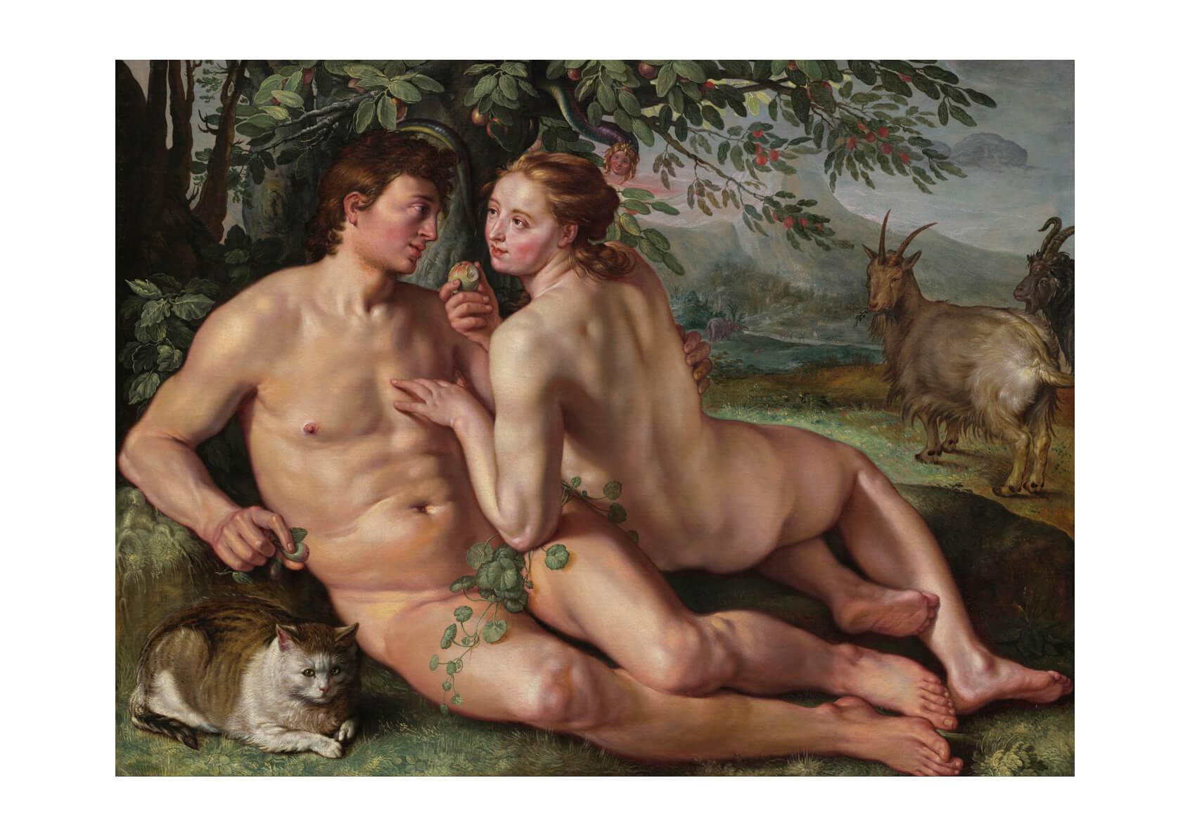 Hendrik Goltzius - The Fall Of Man