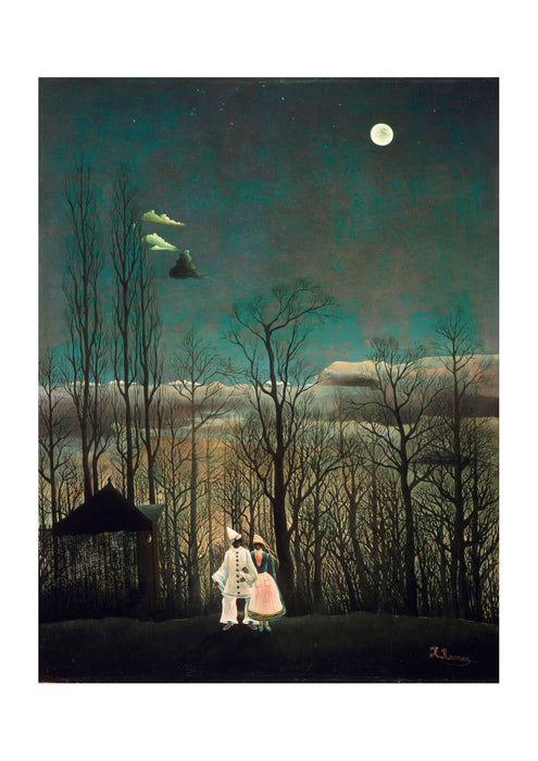 Henri-Julien-Félix Rousseau French - Carnival Evening