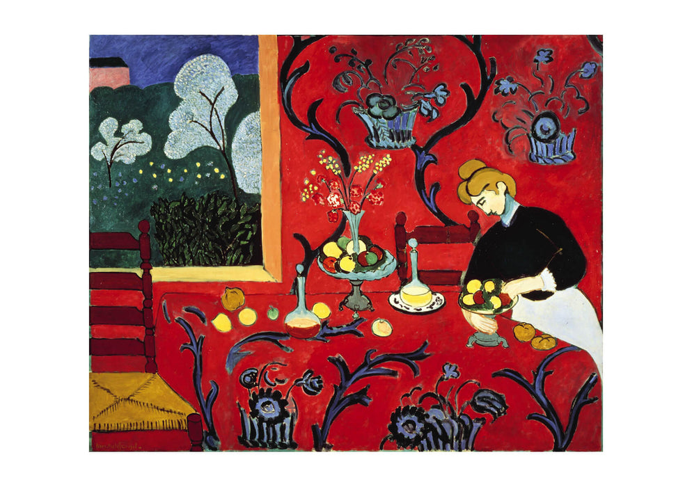 Henri Matisse Harmony in Red The Dessert