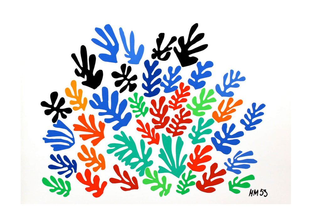 Henri Matisse Spray of Leaves