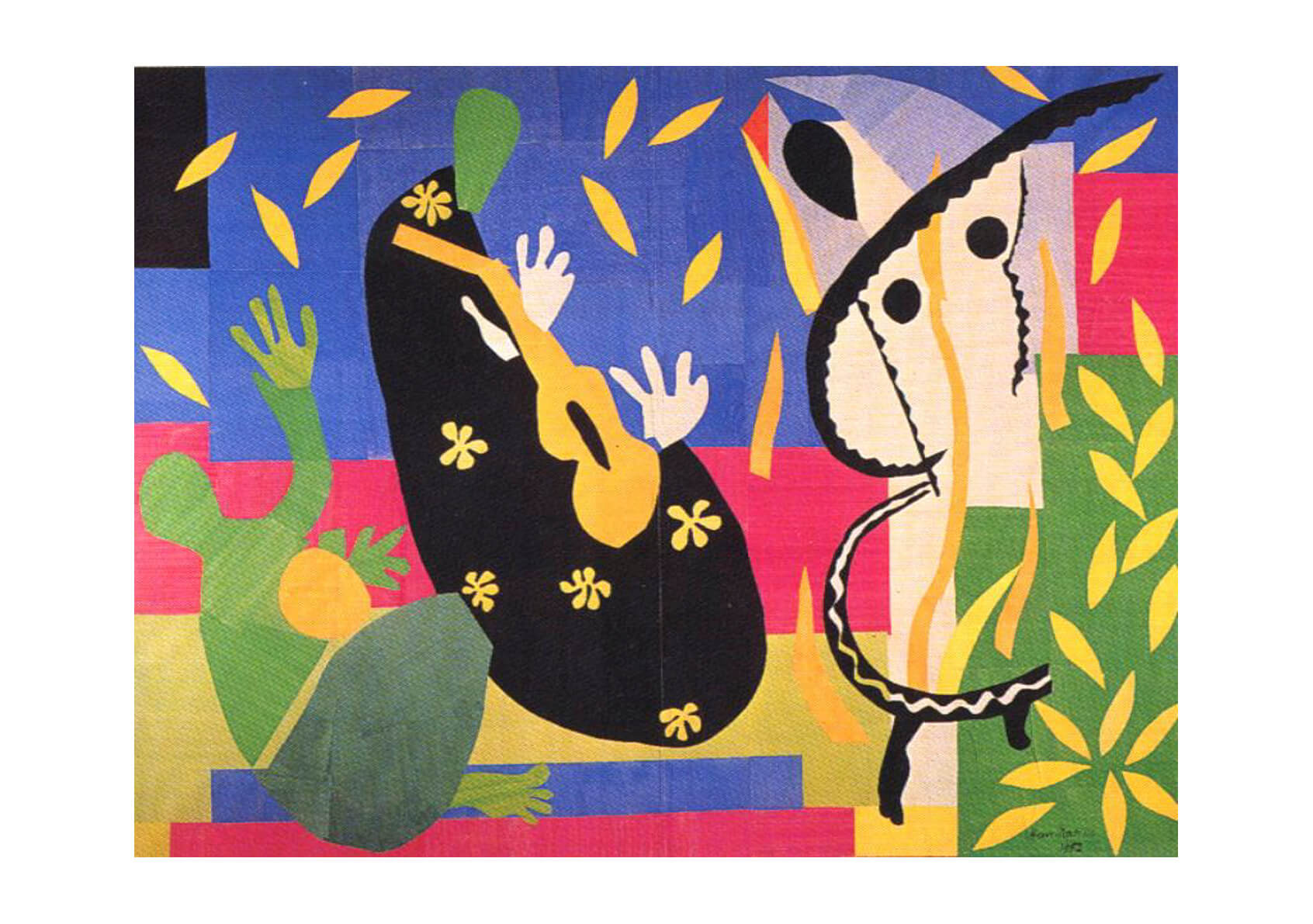Henri Matisse The Sorrows of the King
