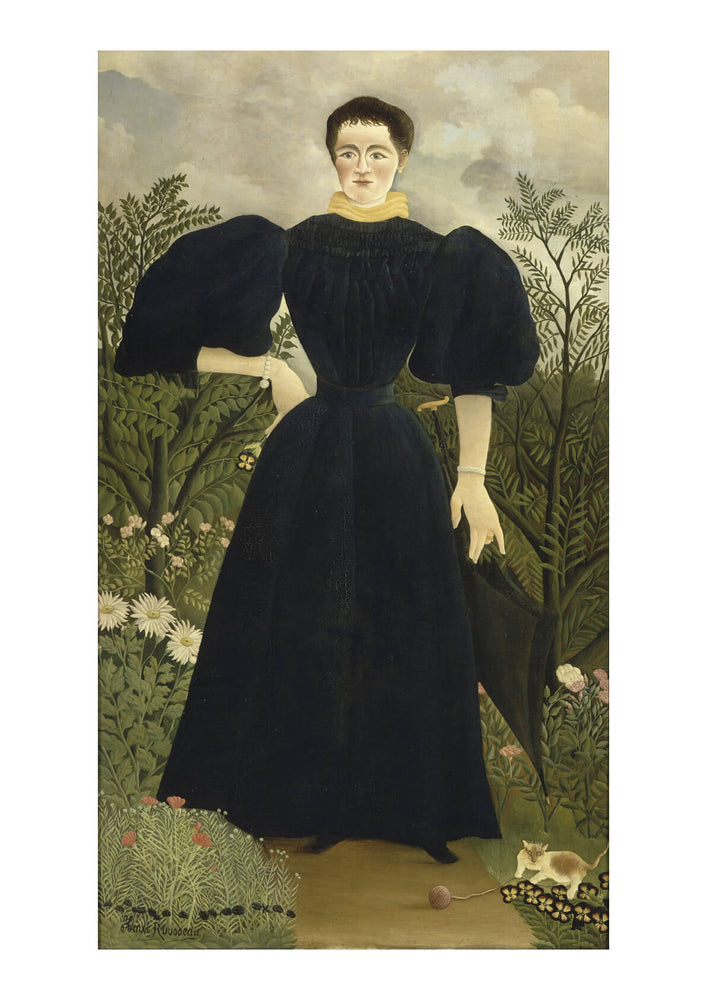 Henri Rousseau - Portrait of Madame M