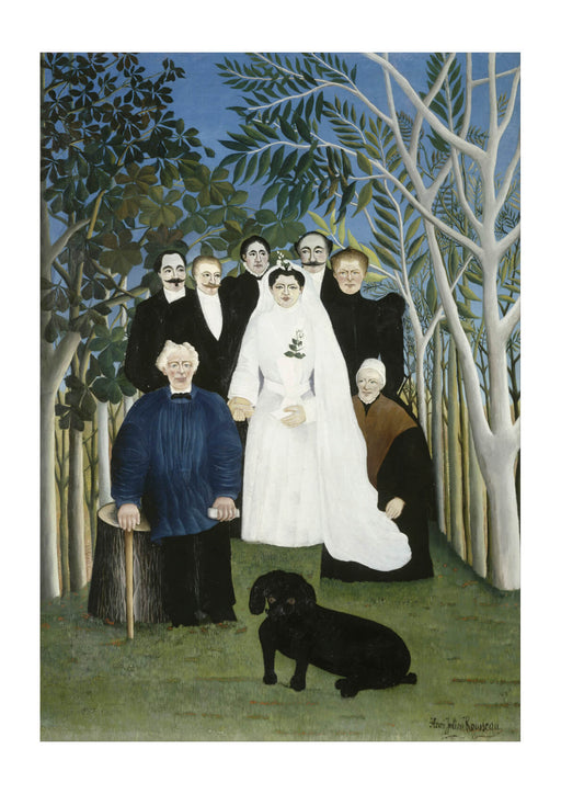Henri Rousseau - The Wedding Party