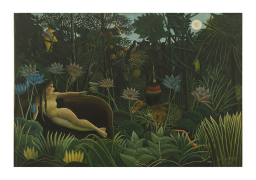Henri Rousseau - The Woods