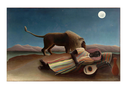 Henri Rousseau - Under the Moon