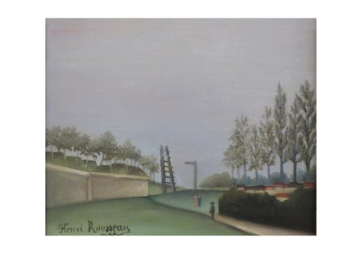 Henri Rousseau - View of the Fortifications from the Porte de Vanves