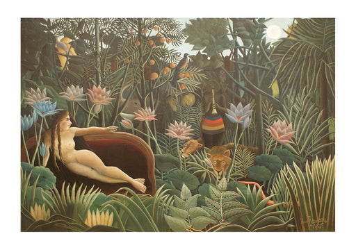 Henri Rousseau The Dream 1910