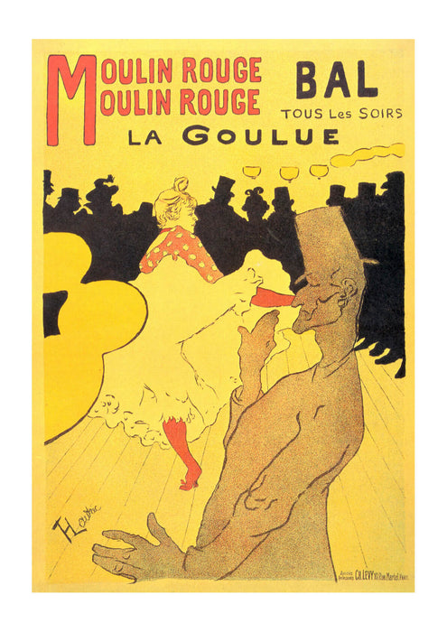 Henri Toulouse Lautrec - Advert
