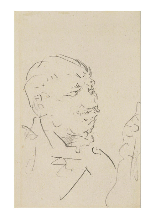 Henri Toulouse Lautrec - Head of a Man