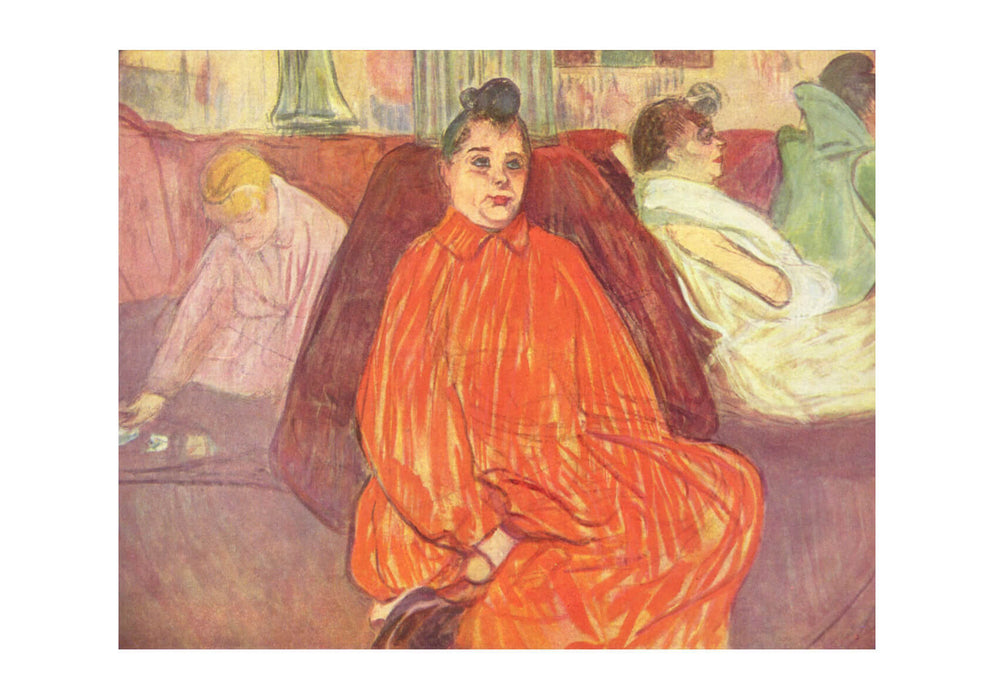 Henri Toulouse Lautrec - In Orange