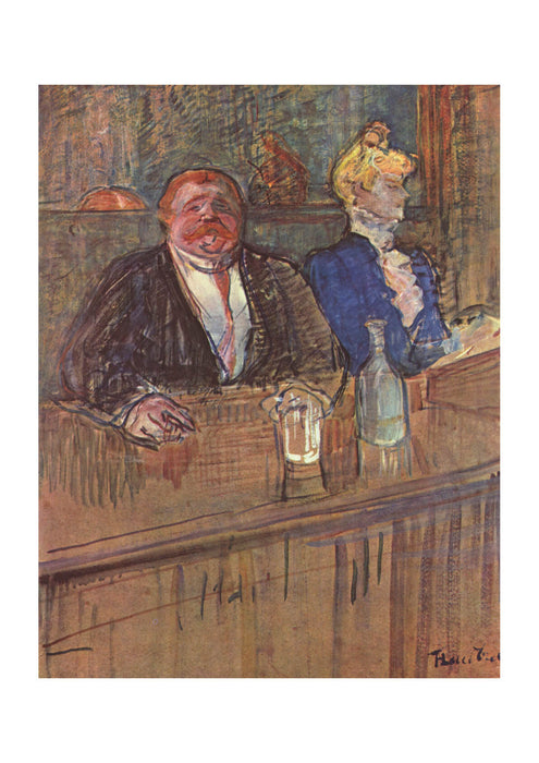 Henri Toulouse Lautrec - In the Bar