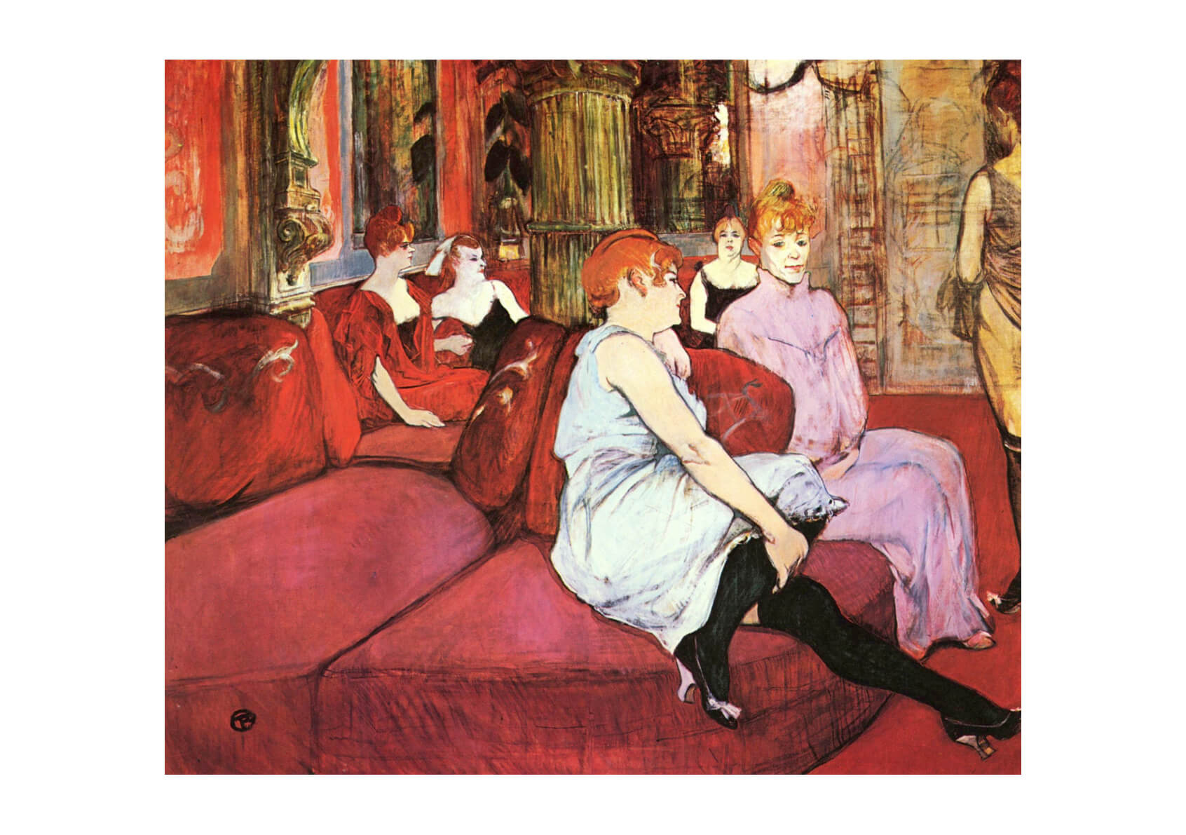 Henri Toulouse Lautrec - In the Room