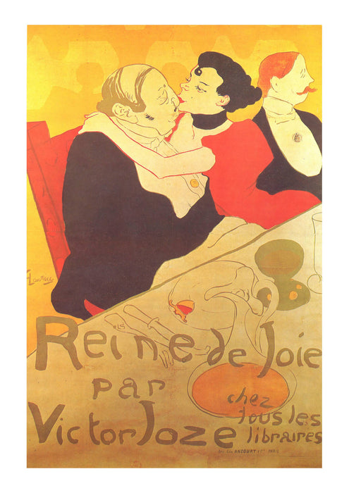 Henri Toulouse Lautrec - Kissing