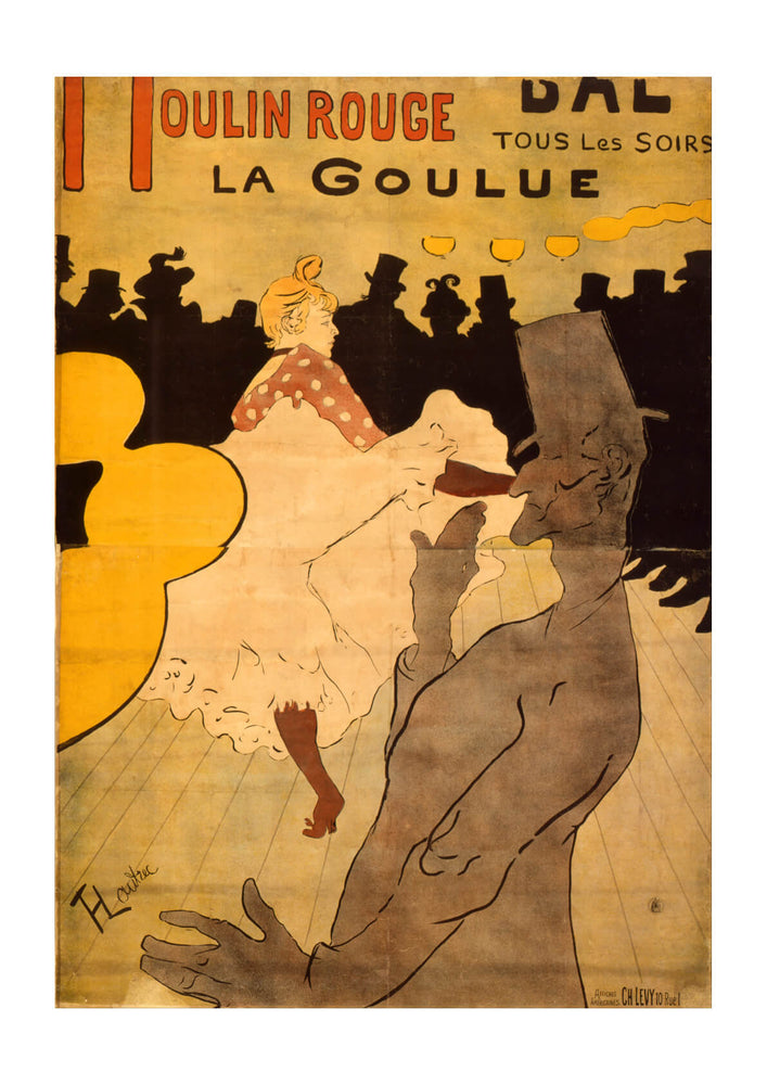 Henri Toulouse Lautrec - Moulin Rouge-La Goulue