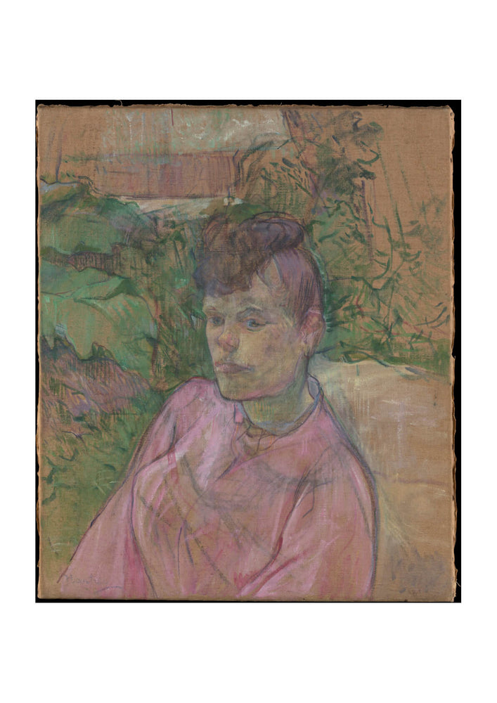 Henri Toulouse Lautrec - Woman in the Garden of Monsieur Forest