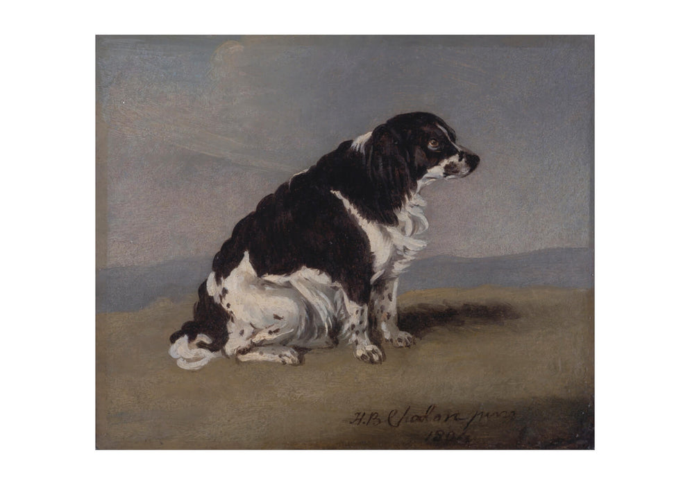 Henry Bernard Chalon - The Duchess Of York's Spaniel