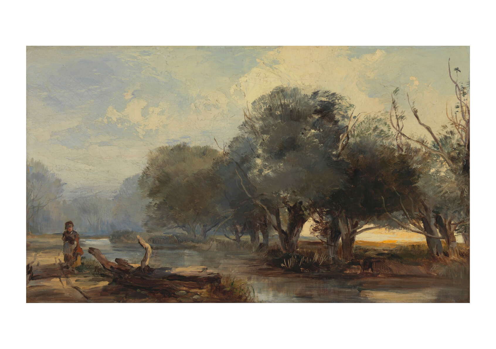Henry Bright - On The Norfolk Broads