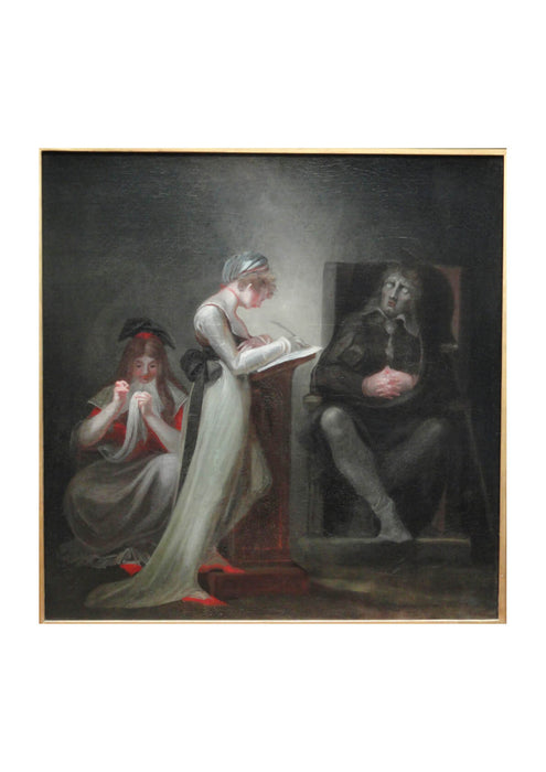 Henry Fuseli - Milton Dictating to His Daughter