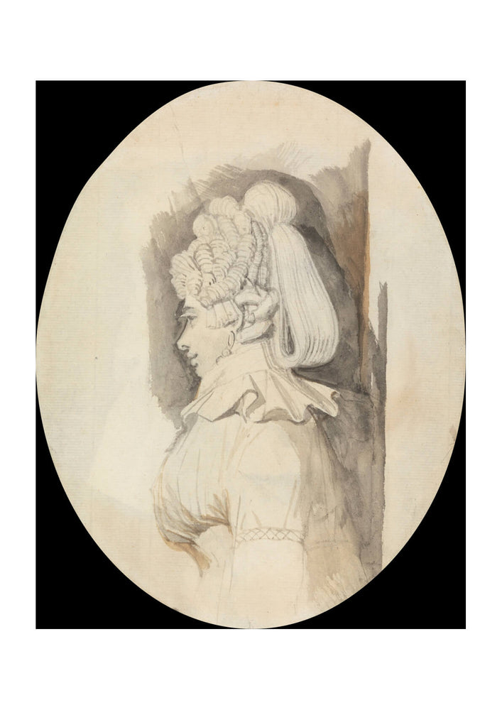 Henry Fuseli - Study of a Lady
