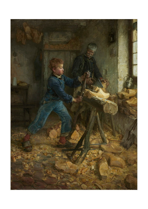 Henry Ossawa Tanner - The Young Sabot Maker