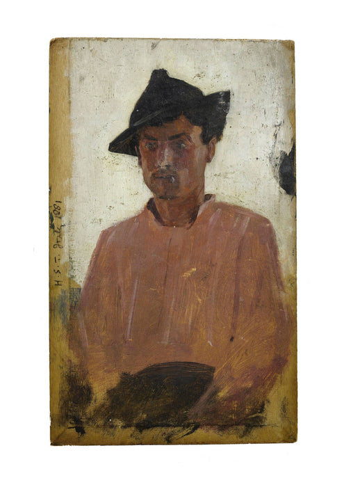 Henry Scott Tuke - Italian man with hat