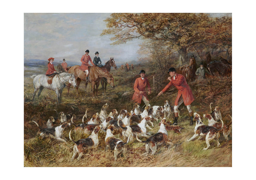 Heywood Hardy - Hunters and hounds