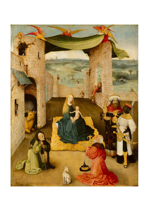 Hieronymus Bosch - Adoration of the Magi
