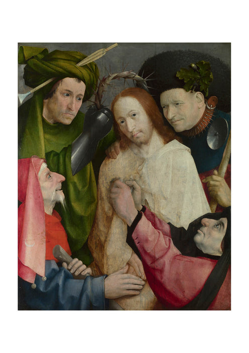 Hieronymus Bosch - Christ Mocked The Crowning with Thorns