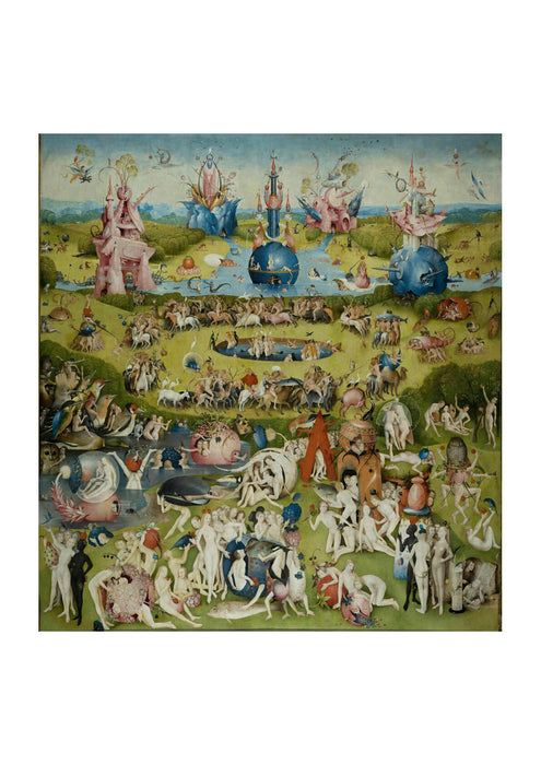 Hieronymus Bosch - Garden of Earthly Delights Ecclesia's Paradise