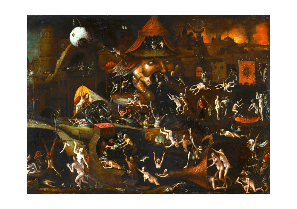 Hieronymus Bosch - The Harrowing of Hell