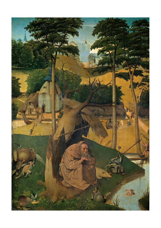 Hieronymus Bosch - The Temptation of St Anthony