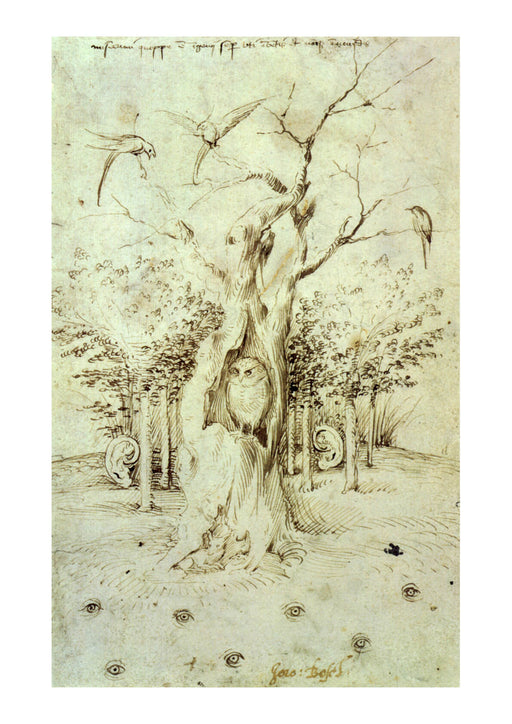 Hieronymus Bosch - The Trees Have Ears and the Field Has Eyes