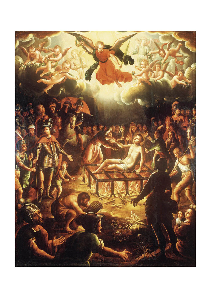 Hipólito De Rioja - The Martyrdom Of Saint Lawrence
