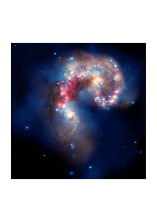 Hubble Telescope - Antennae galaxies