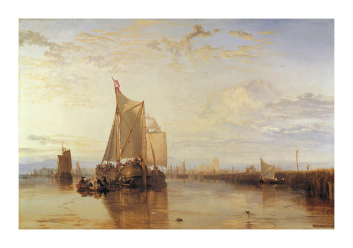 J M W Turner - The Dort Packet-Boat from Rotterdam Becalmed