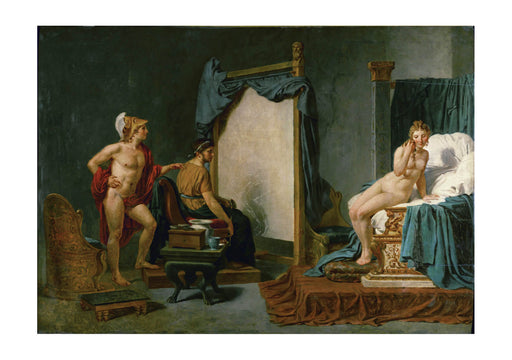 Jacques David - Apelles Painting Campaspe