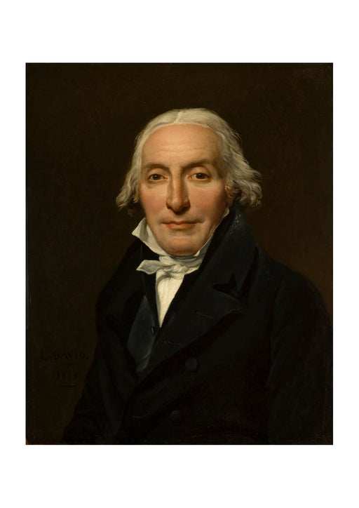 Jacques David - Portrait of Jean-Pierre Delahaye