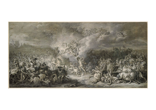 Jacques David - The Combat of Diomedes