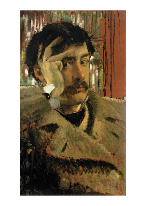 James Tissot - Self Portrait (1865)